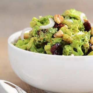 Vegan Broccoli Salad.