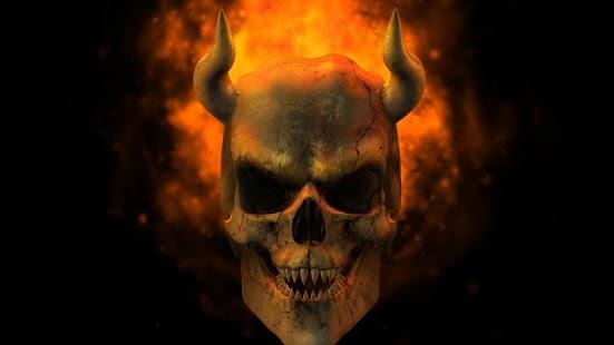 Evil Skulls On ...