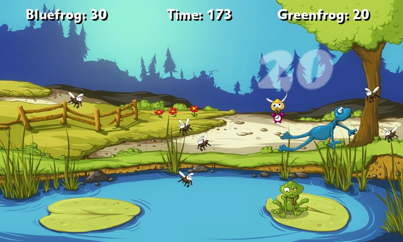 A Frog Game Free - screenshot