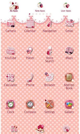 Sweet Theme Strawberry Picnic 2.0.0 Windows u7528 2
