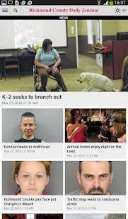 Richmond County Daily Journal- screenshot thumbnail