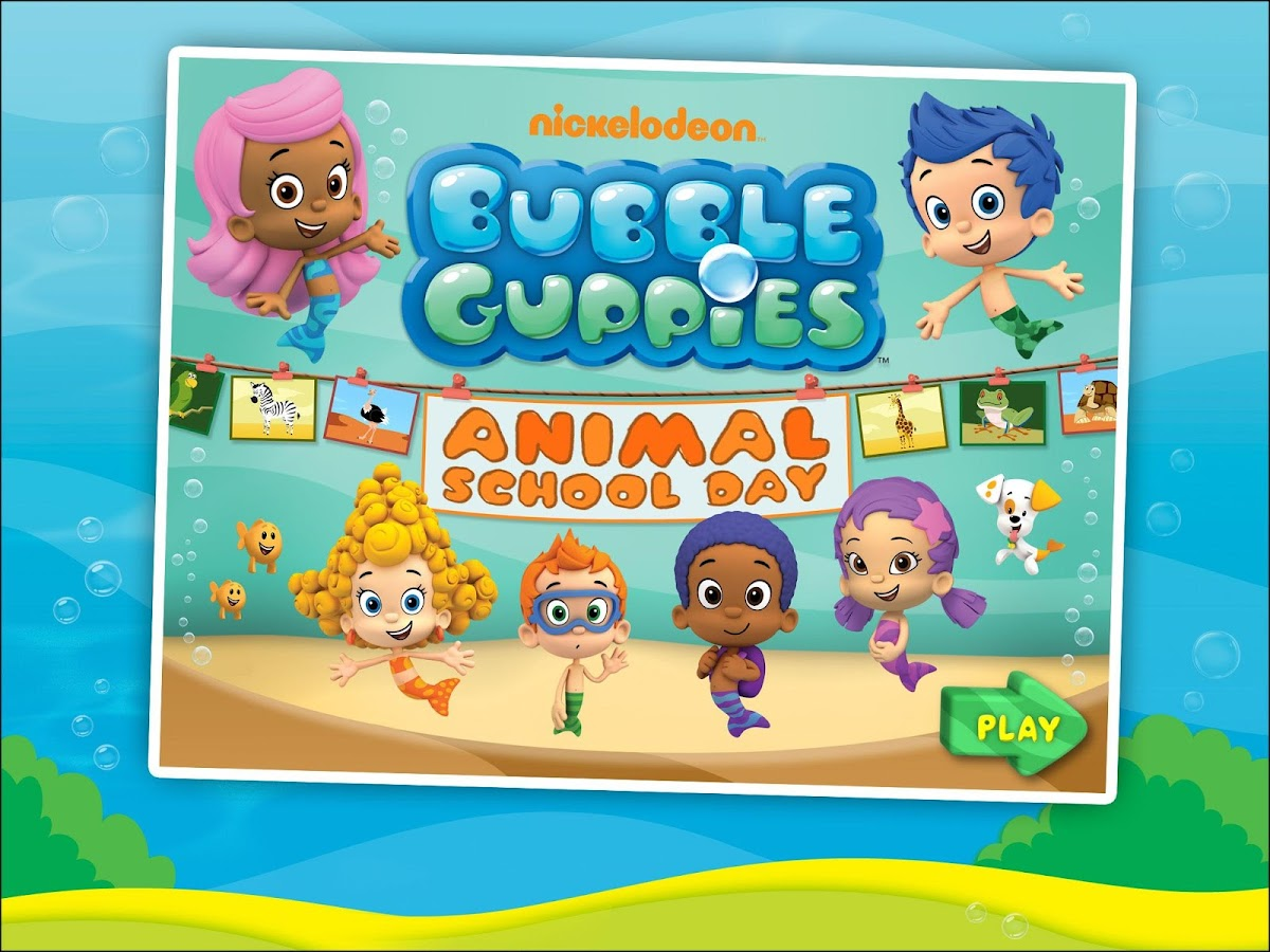 bubble guppies animals hd android apps on google play