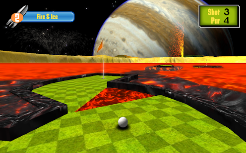 Putt the Planets- screenshot thumbnail