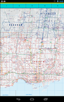 Screenshot of Toronto Transport Maps
