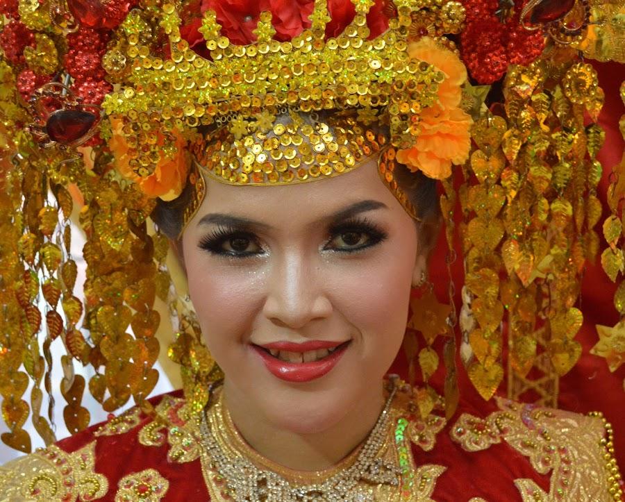 the bride by Rinal Dino - Wedding Bride ( woman, wedding, people, culture, portrait )