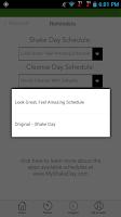 Screenshot of My Shake Day