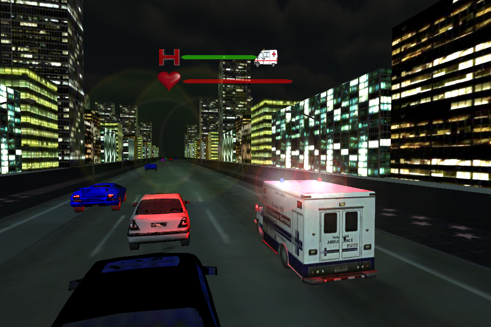 Ambulance Rush - screenshot