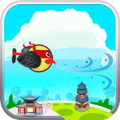 Clumsy Ninja Bird Floppy Flap