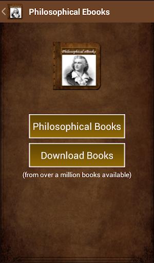 Philosophical Ebooks