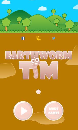 【免費街機App】Earthworm Tim-APP點子
