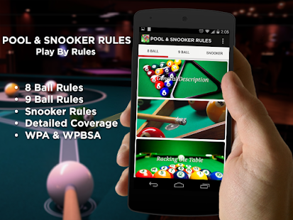 Pool & Snooker Rules- screenshot thumbnail