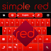 Simple Keyboard Red