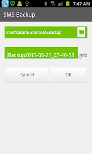 SMS Backup & Restore- screenshot thumbnail