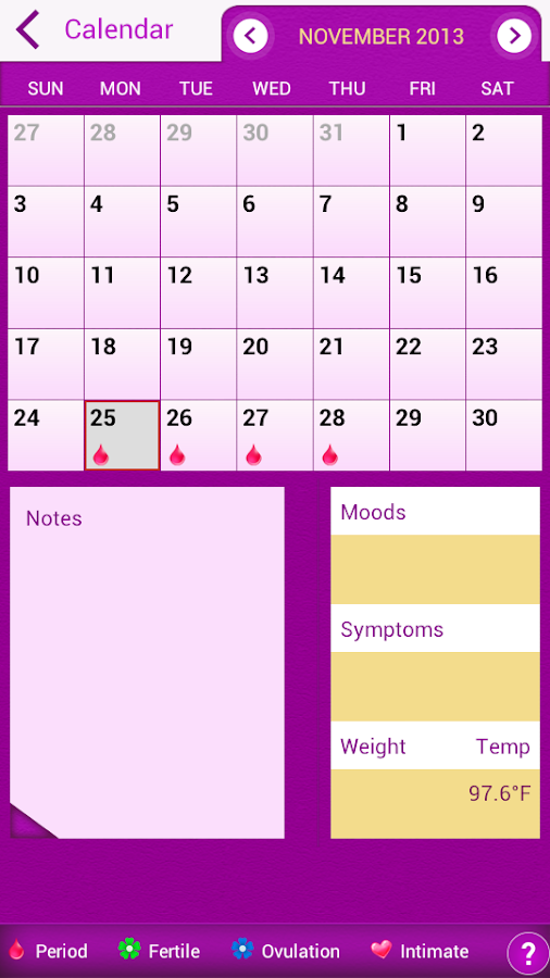 Calendar Wallpaper App : My period tracker calendar android apps on google play
