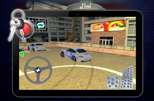 酒店的代客泊車師傅3D 賽車遊戲 App-癮科技App
