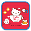 Hello Kitty Lovely cup Theme icon