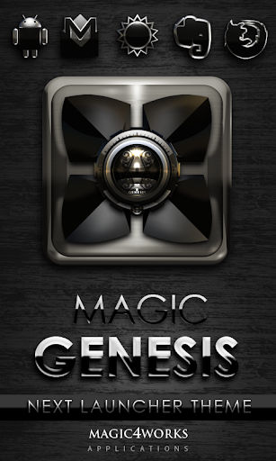 Genesis Next Launcher Theme