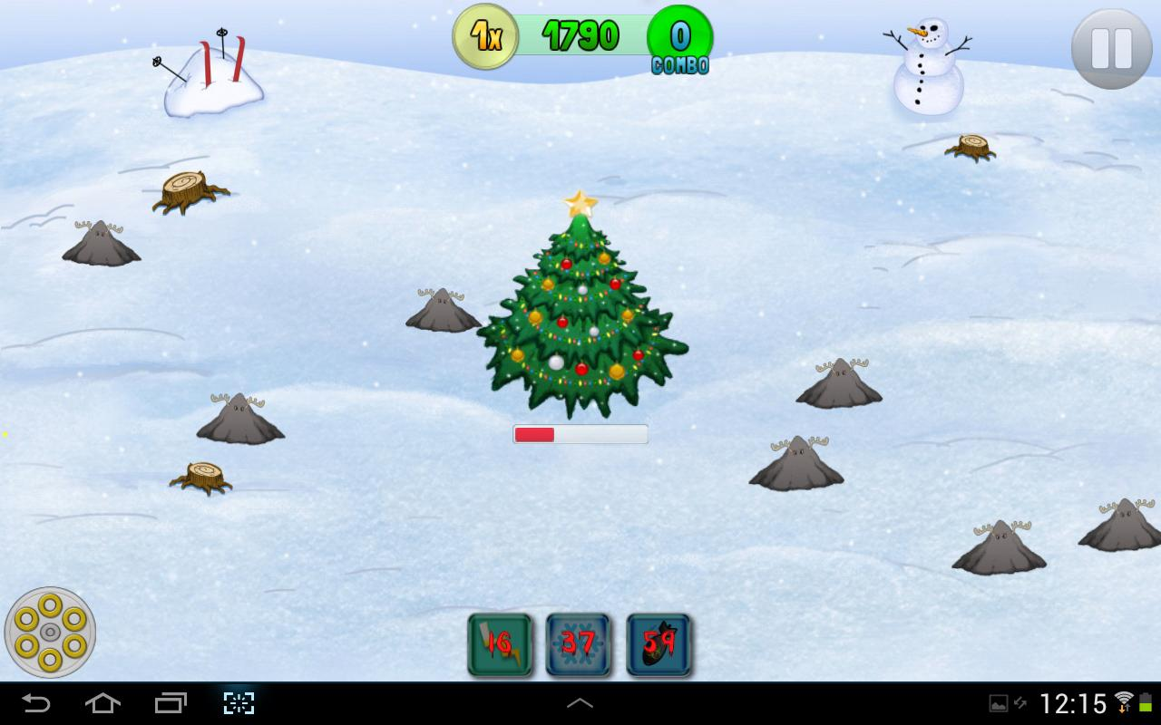 Reindeer Rampage - screenshot