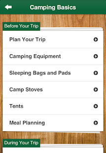 Parks Canada Learn to Camp - screenshot thumbnail