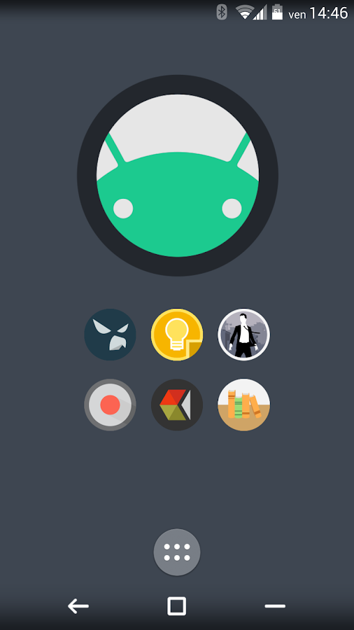 FlatDroid - Icon Pack - screenshot