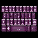 Plastic Pink Keyboard Skin logo