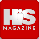 His Magazine logo
