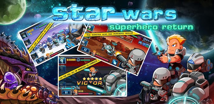 Star wars:superhero return apk