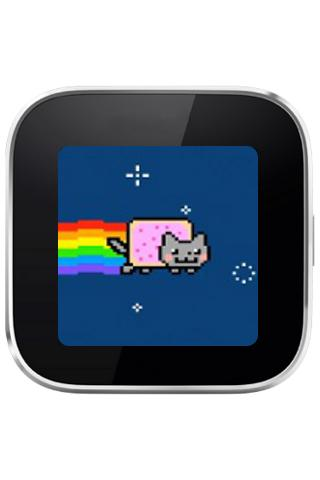 NyanCat for SmartWatch - screenshot