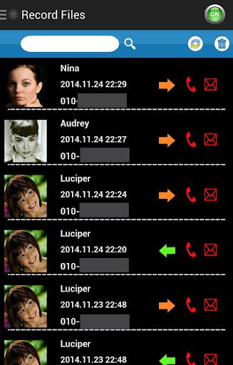 Auto Call MP3 Recorder