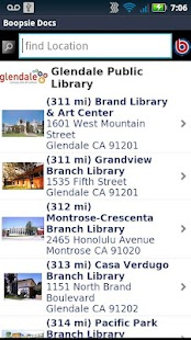 Glendale Public Library CA- screenshot thumbnail