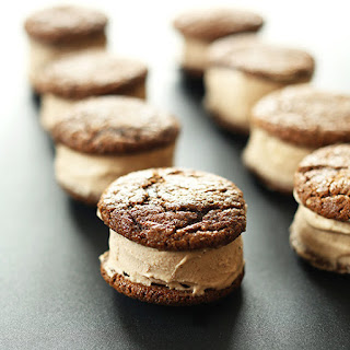 Chai Ginger Ice Cream Sandwiches.