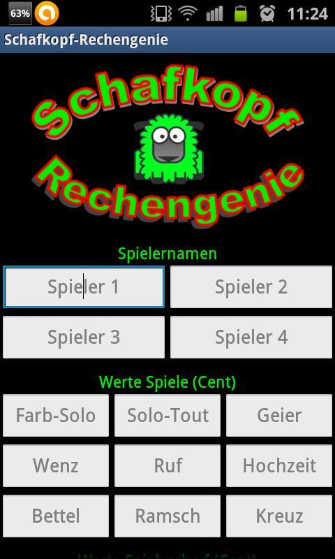 Schafkopf-Rechengenie - screenshot