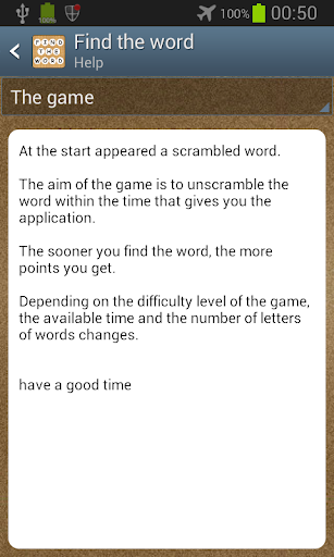 玩免費拼字APP|下載Scramble - Find the word app不用錢|硬是要APP