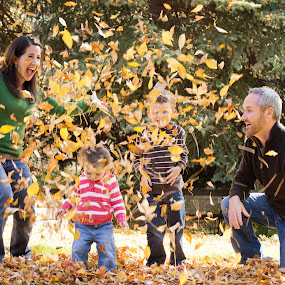 Family Fall Fun by Roberta Lott-Holmes - Uncategorized All Uncategorized ( fall, color, colorful, nature,  )