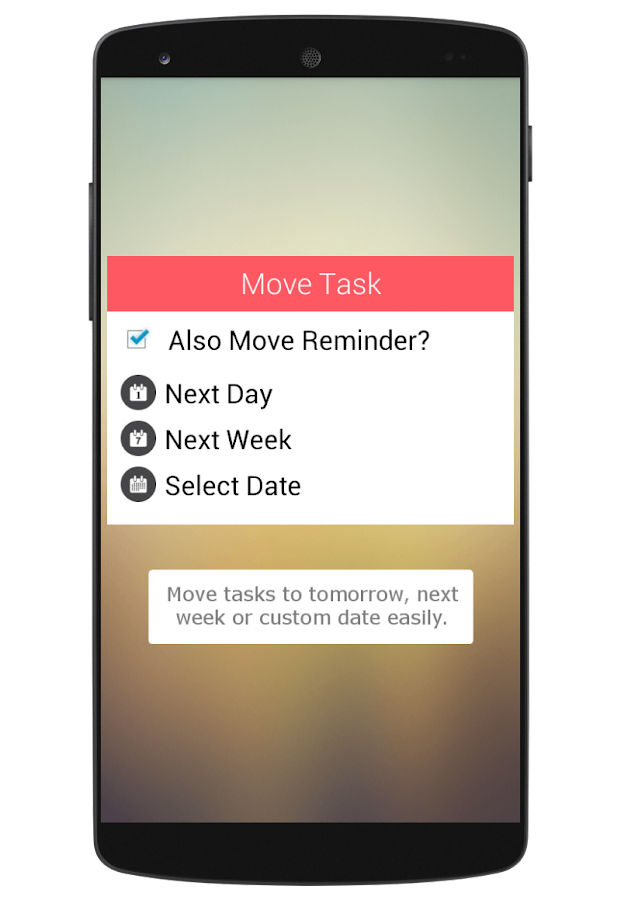 To-Do Widget - screenshot