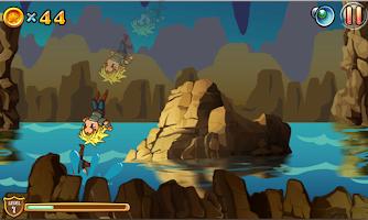Screenshot of Giga Run