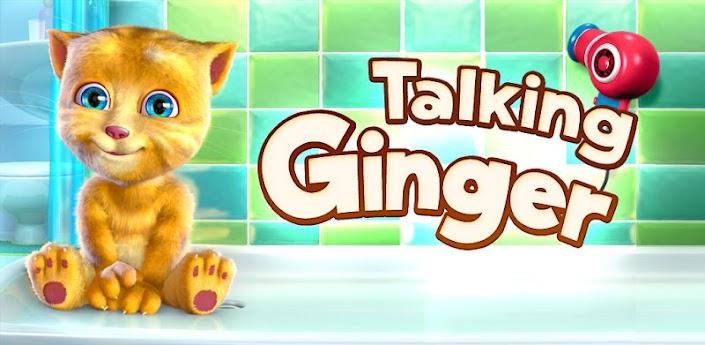 Talking Ginger - скачать говорящий Рыжик на Андроид