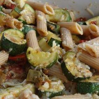 Zucchini Pasta Bake.