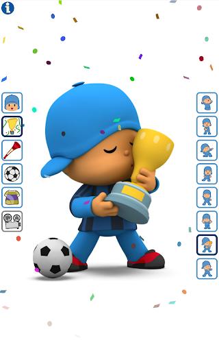 Talking Pocoyo Football  screenshots 1