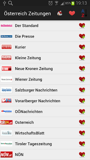 Austria Newspapers And News