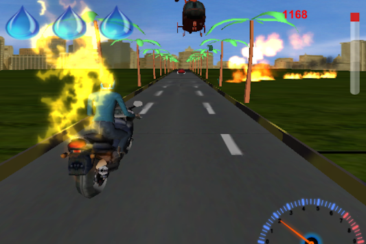BikerRace3D apk screenshot