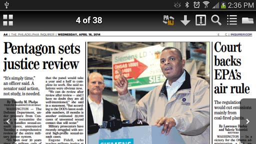 Philadelphia Inquirer Replica  screenshots 2