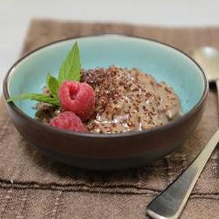 Creamy Chocolate Rice Pudding