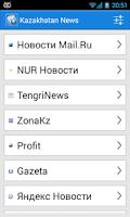 Screenshot of Kazakhstan News