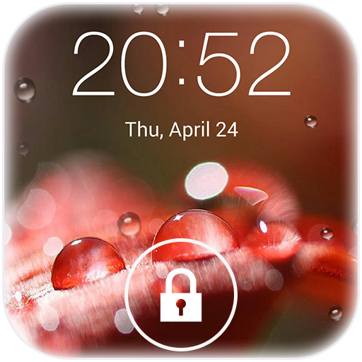 Lock screen(live wallpaper) LOGO-APP點子