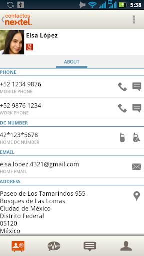 社交必備APP下載|Contactos Nextel 好玩app不花錢|綠色工廠好玩App