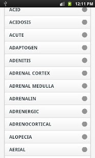 Medical Dictionary - screenshot thumbnail