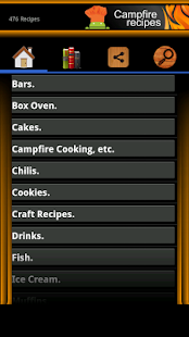 Campfire Recipes - Notes Vers.- screenshot thumbnail