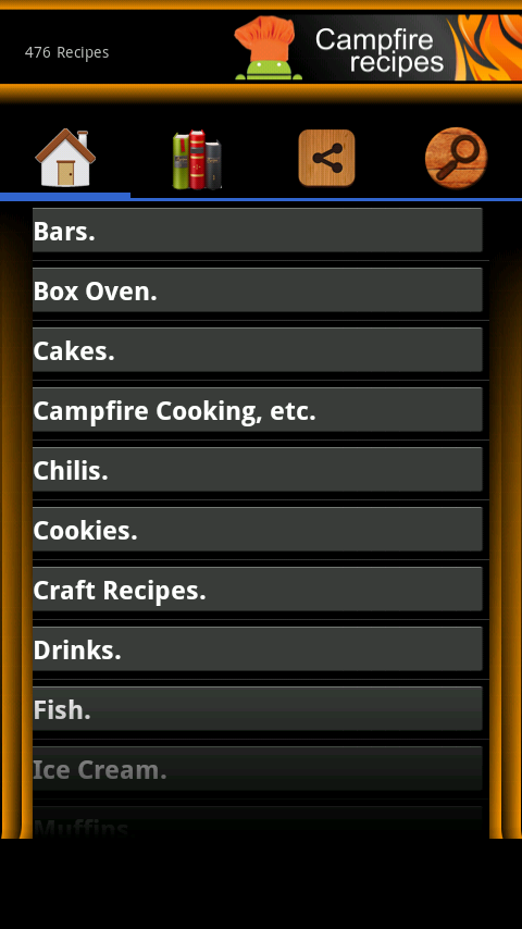 Campfire Recipes - Notes Vers.- screenshot