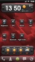 Screenshot of MLG Aviator Widget Theme